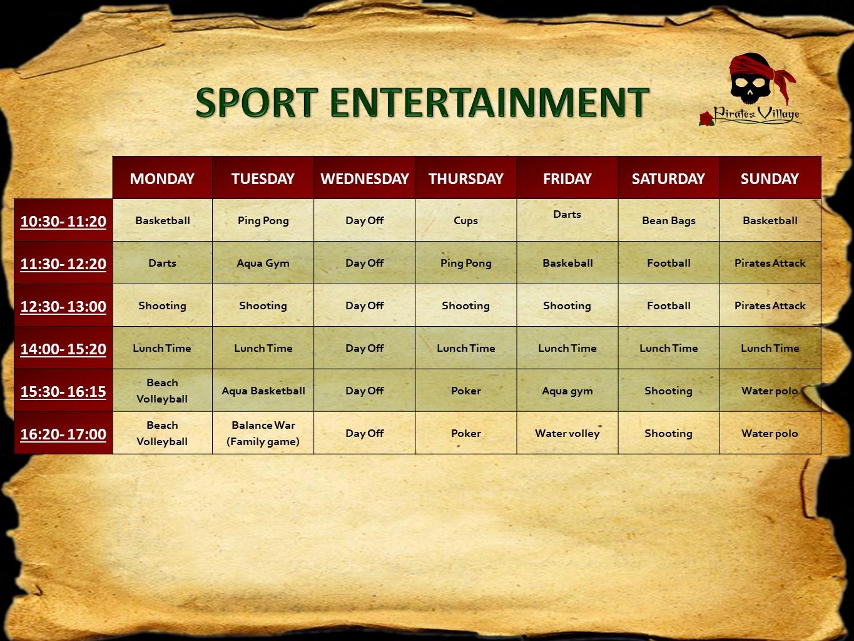 Sport entertainment 2017